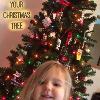 How to Toddler Proof Christmas Trees