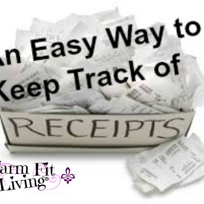 3 Easy Ways to Keep Track of Receipts