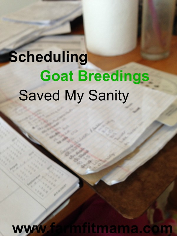 Schedule Breedings