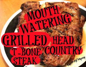 Head Country T-Bone Steak