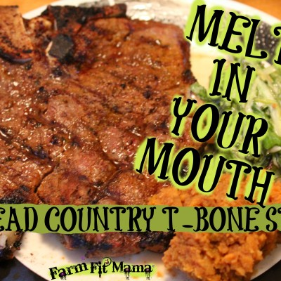 Mouth-Watering Head Country T-Bone Steak