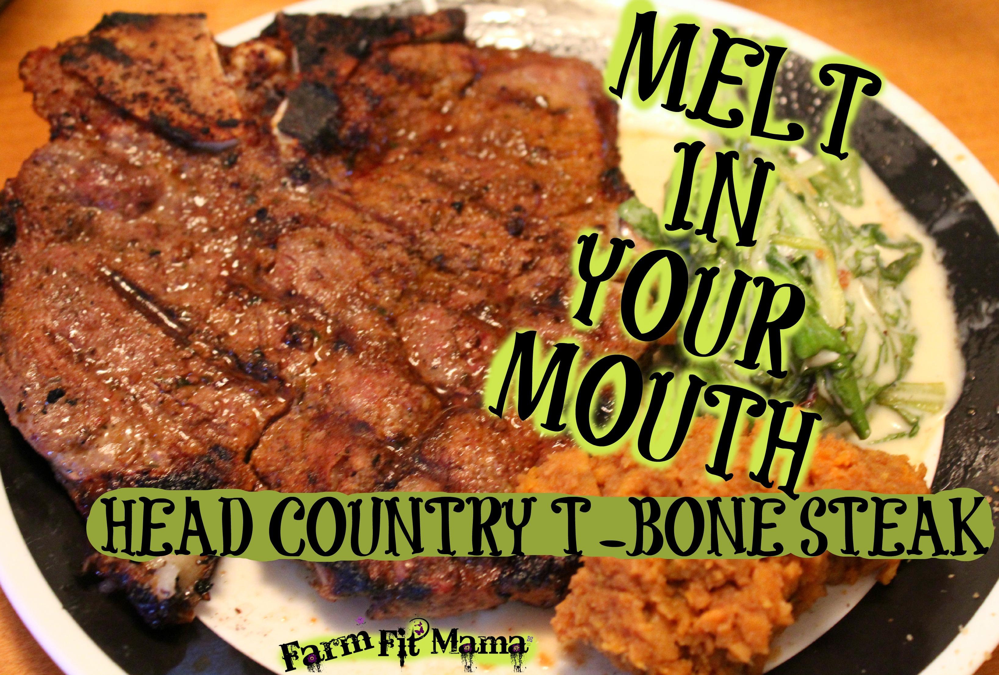 Head Country T-Bone Steaks