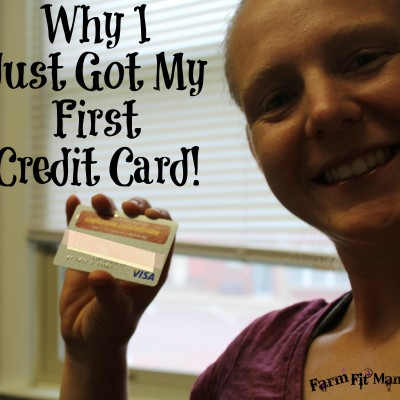 I Just Got My First Credit Card…And Are 3 Reasons Why
