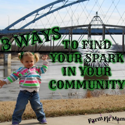 How to Find Your Spark in Your New Community