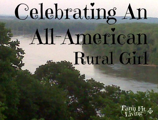 Celebrating an all-american rural girl