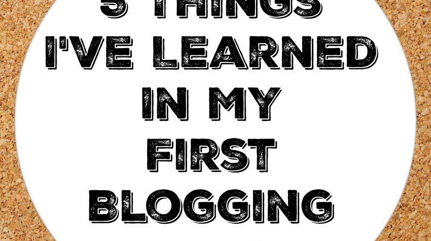 In My First Blogging Year