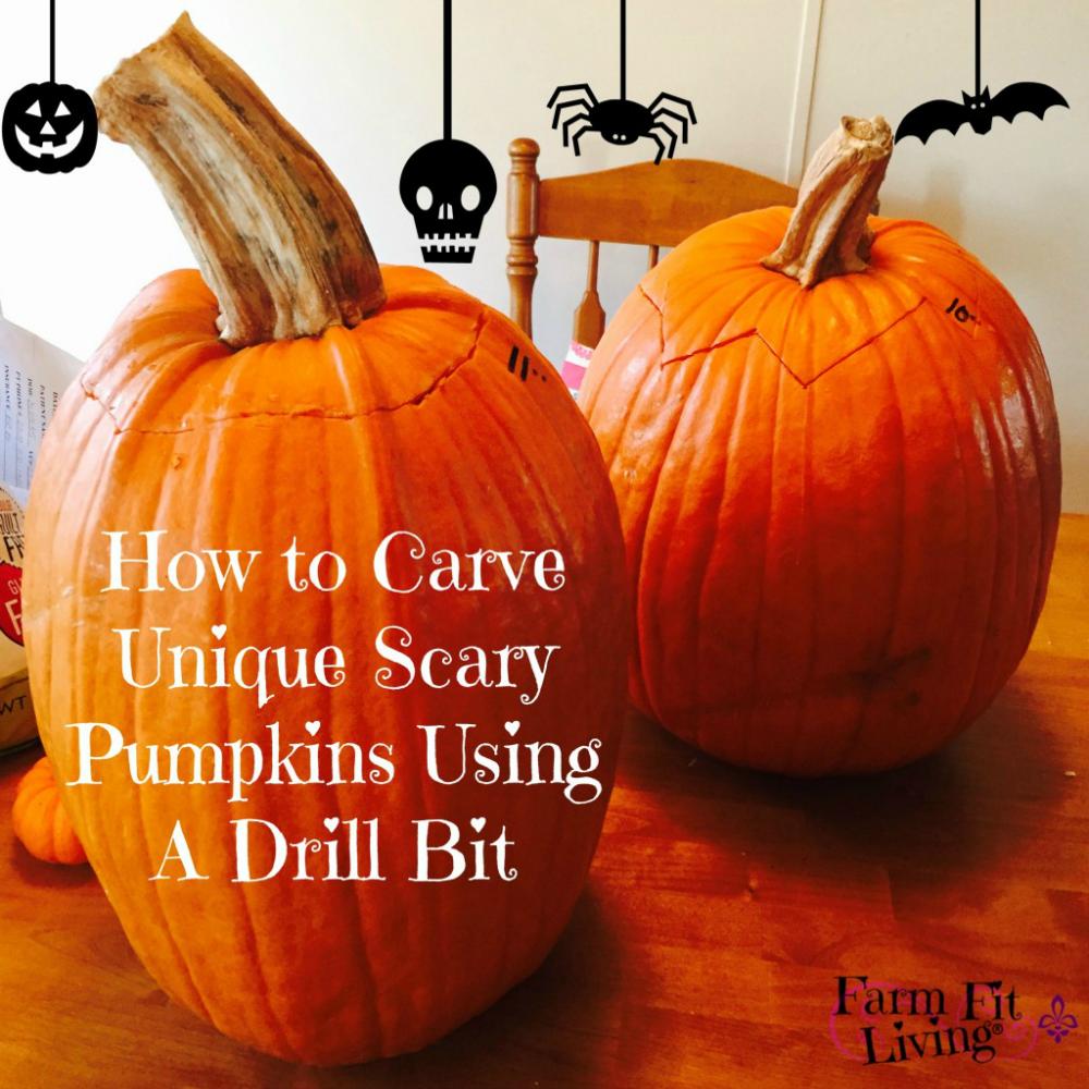 Carve Uniquely Scary Pumpkins