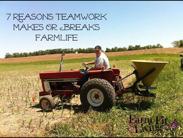 Teamwork Makes or Breaks Farmlife