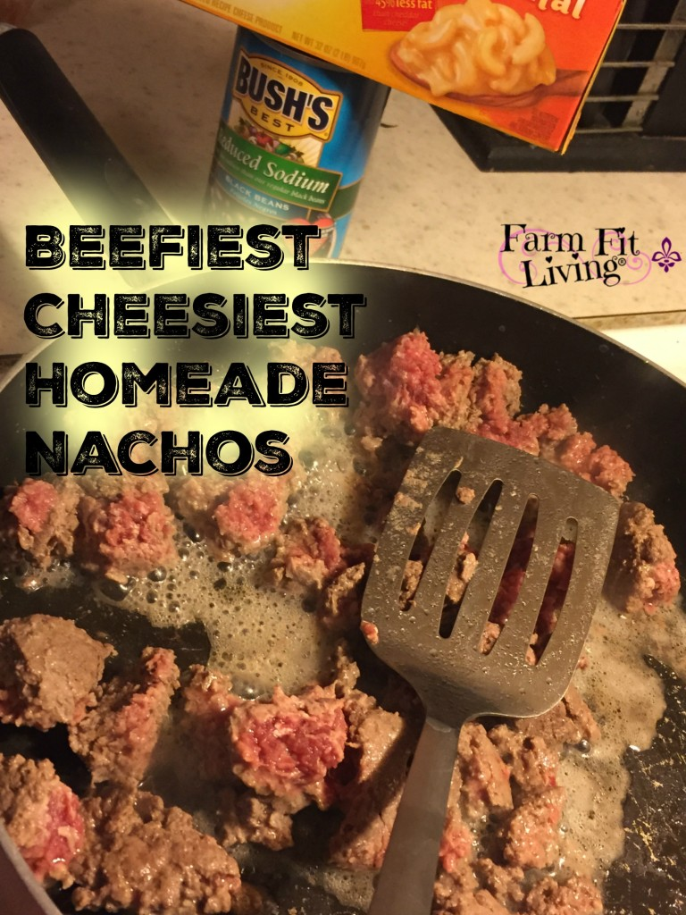 Beefiest Cheesiest Homemade Nachos