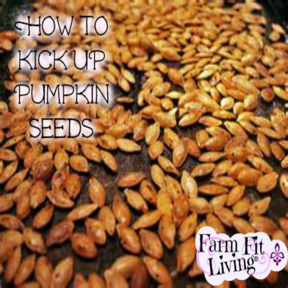 Kick Up Flavorful Pumpkin Seeds