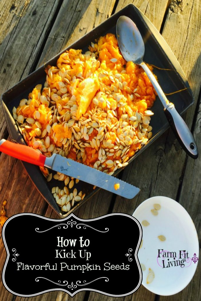 Kick Up Flavorful Pumpkin Seeds