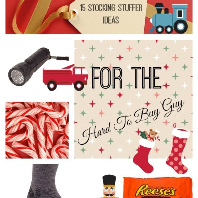 15 Stocking Stuffer Ideas for the Hard To Buy Guy