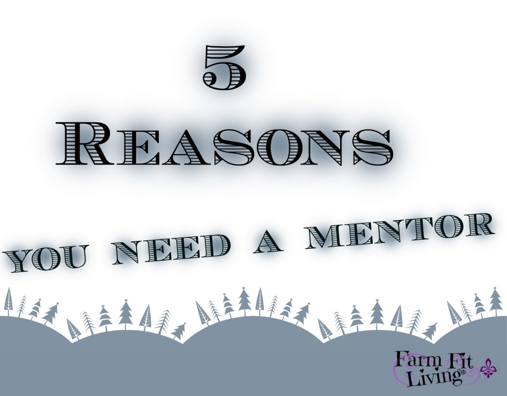 5 Reasons You Need A Mentor