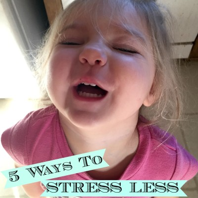5 Ways to Stress Less When Living the Simple Life