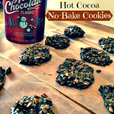 William-Sonoma Hot Cocoa No-Bake Cookies