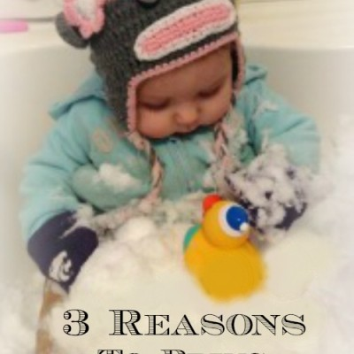 3 Reasons to Bring Snow Indoors
