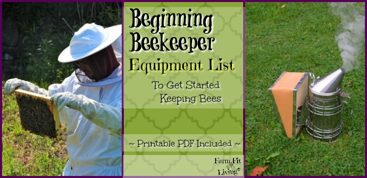 Beginning Beekeeper Equipment List