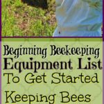 Beginning Beekeeping Equipment List