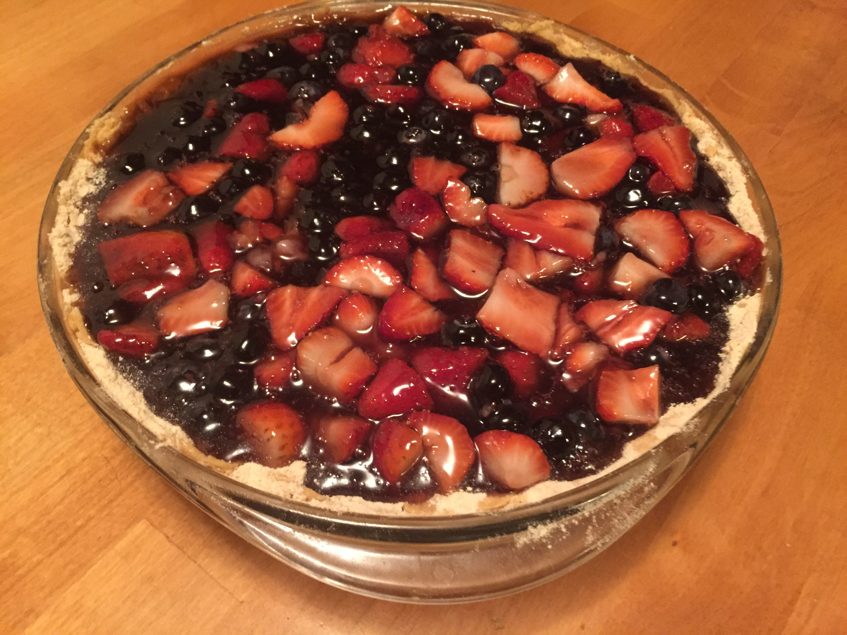 spring berry pie