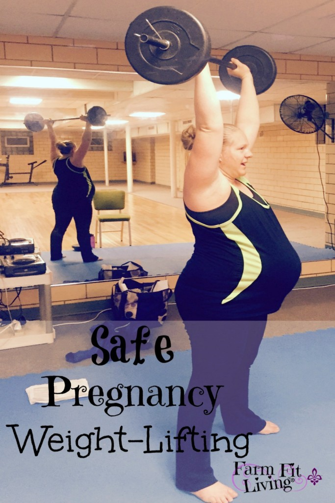 safe pregnancy weight lifting