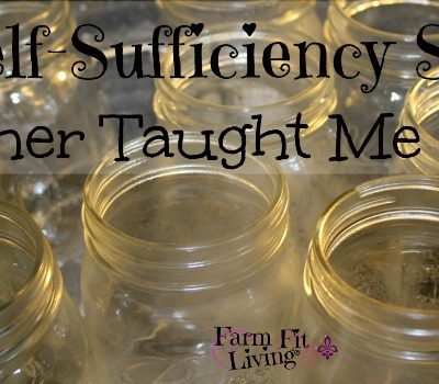 5 Self-Sufficiency Skills Mother Taught Me