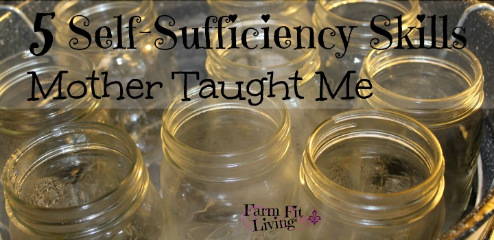 5 self sufficiency skills