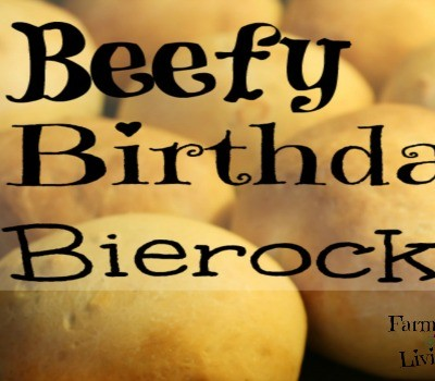 Beefy Birthday Bierocks