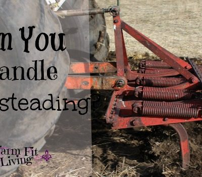 Are You Sure You Can Handle Homesteading?
