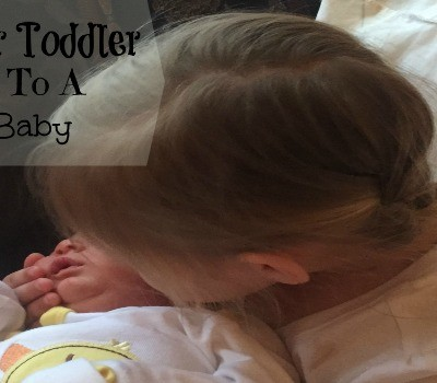 How to Help Your Toddler Adjust to a New Baby