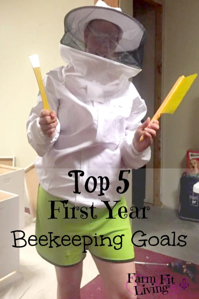 first year beekeeping goals