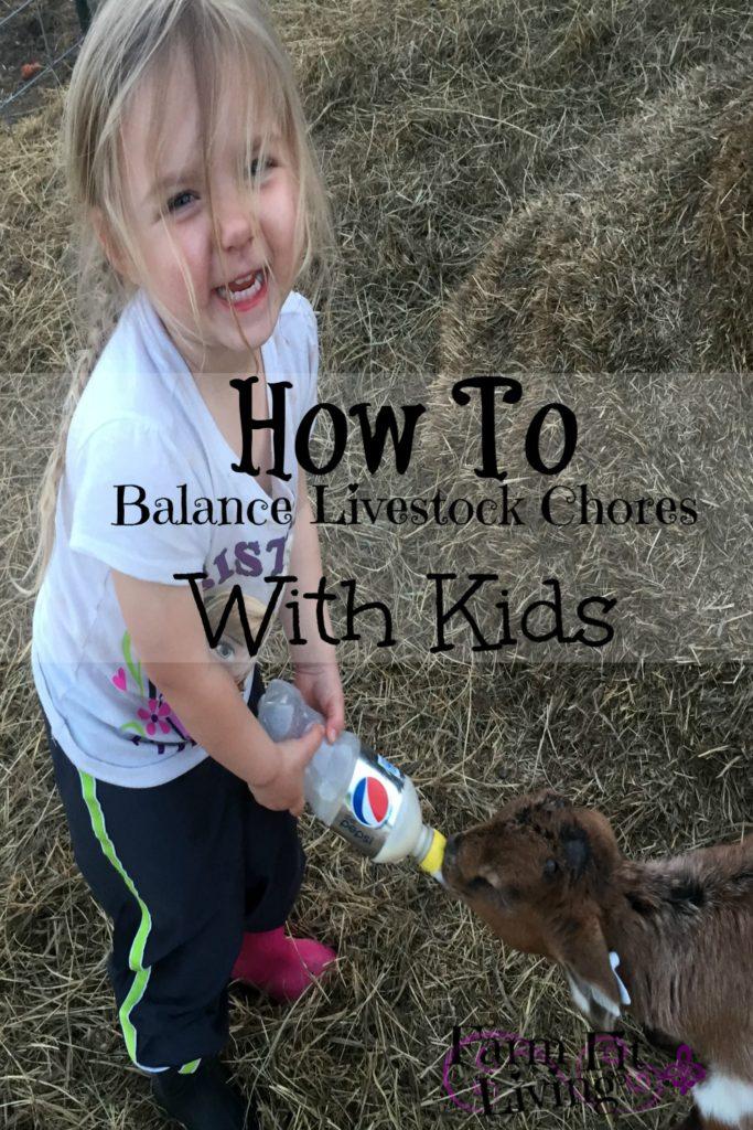 Balance Livestock Chores