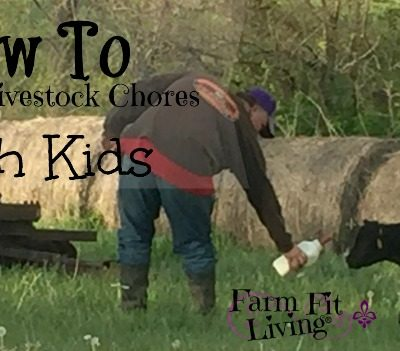 How to Balance Livestock Chores with Kids