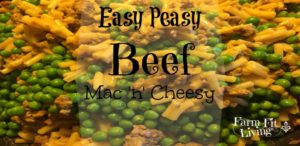 easy peasy beef mac