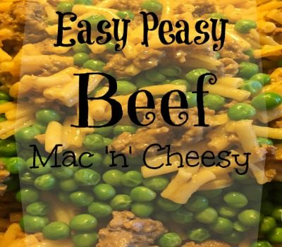 Easy Peasy Beef Mac 'n' Cheesy