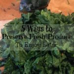 Preserve Fresh Produce
