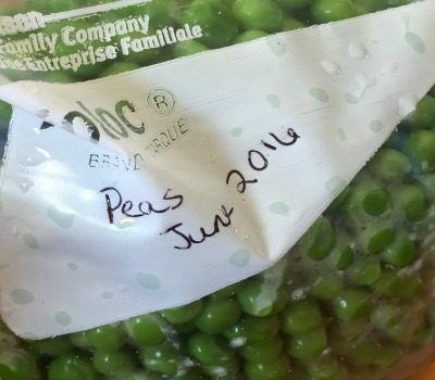 How to Freeze Spring Garden Peas
