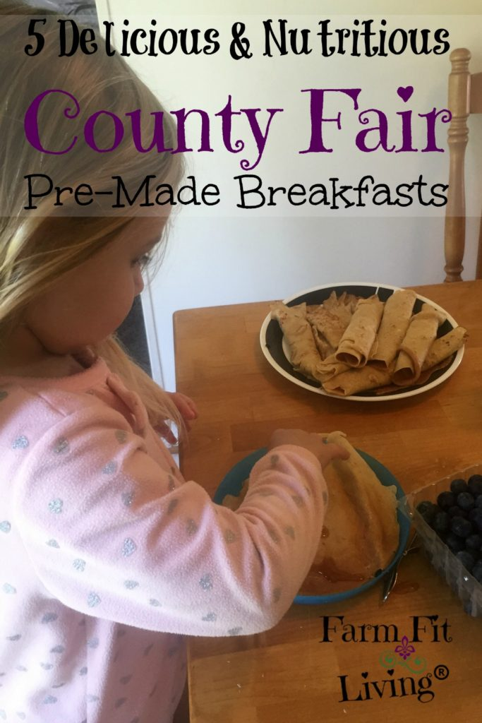 County Fair Week Pre-Made Breakfasts