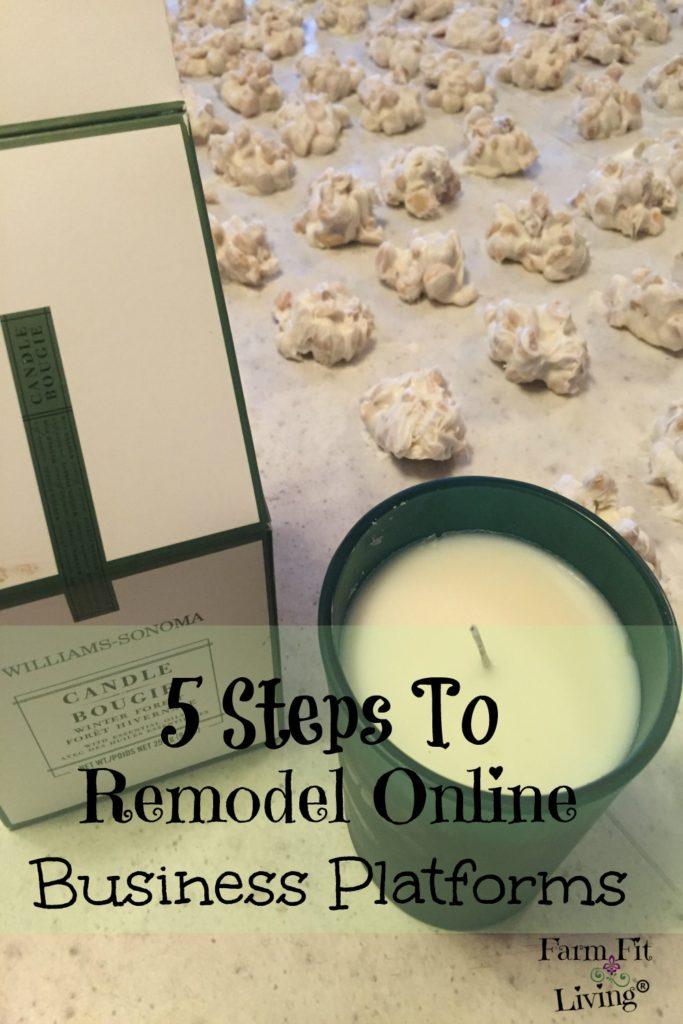 remodel online business platforms