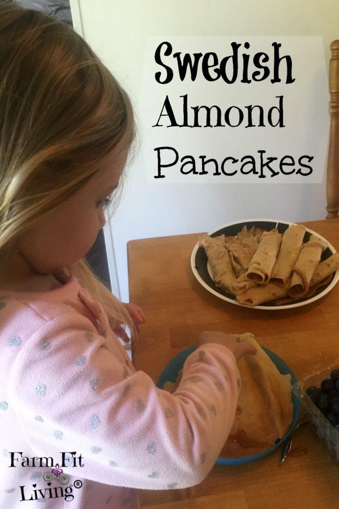 Swedish Almond Pancakes