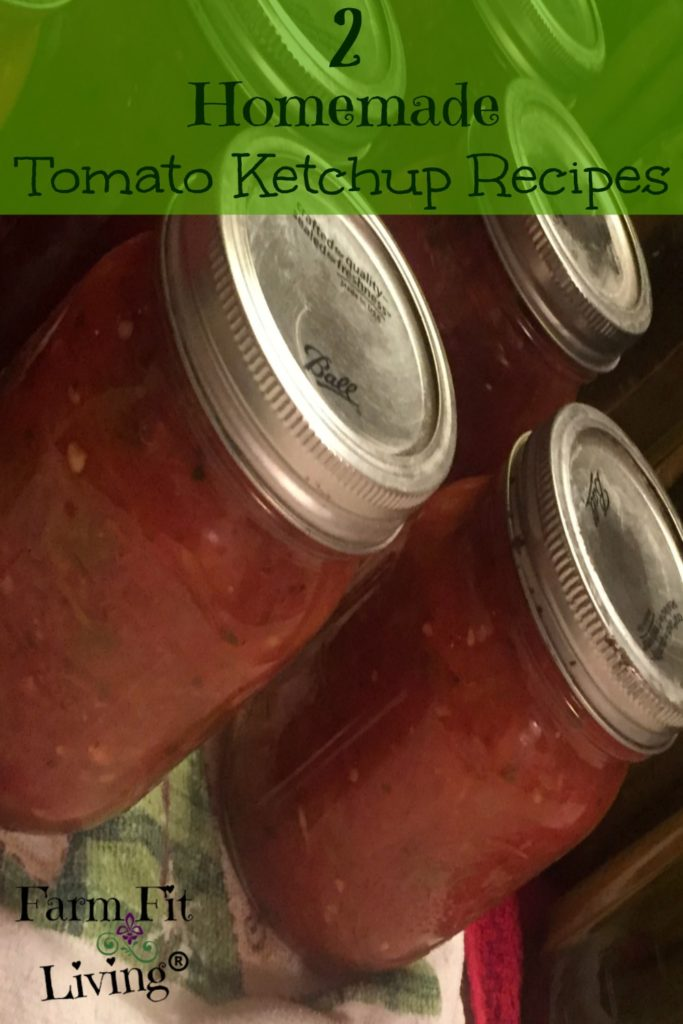 2 Homemade Ketchup Recipes