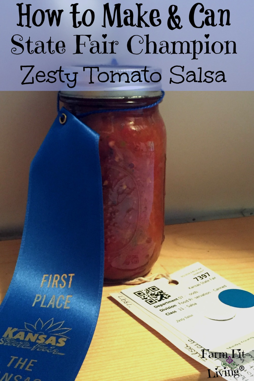 State Fair Champion Zesty Tomato Salsa