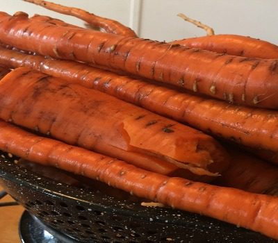 Freeze Fresh Carrots
