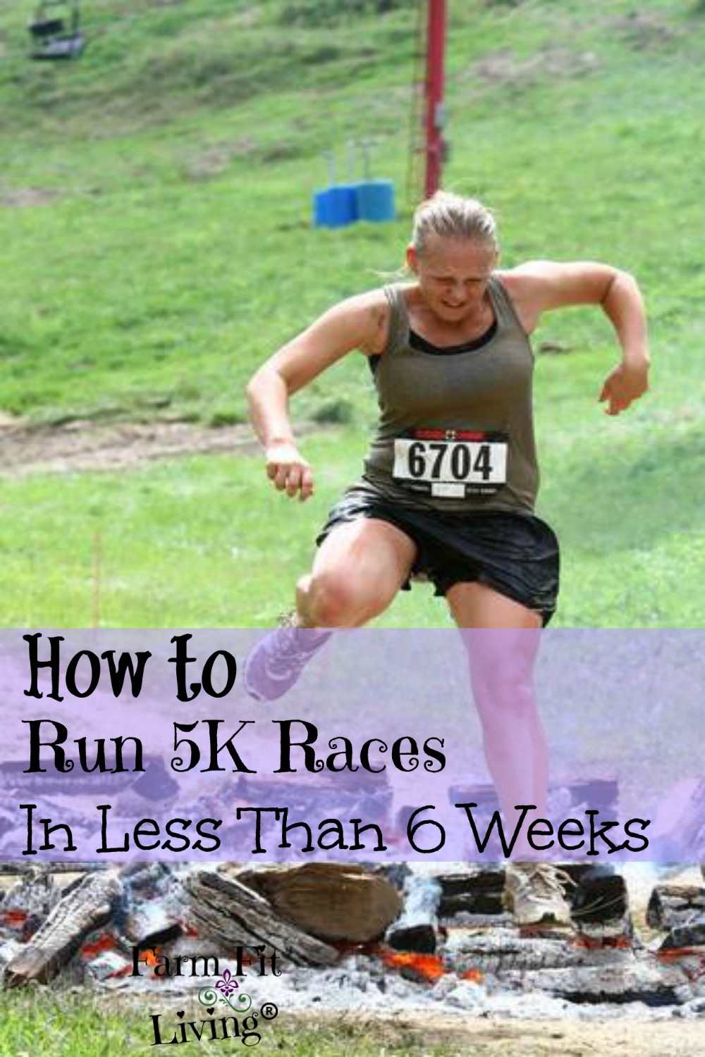 how to build up to a 5k run