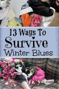 13 ways to survive winter blues