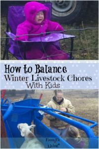 How to Balance Winter Livestock Chores With Kids