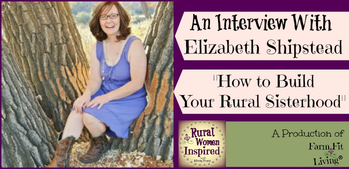 how to build your rural sisterhood