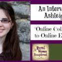 Online College Student to Online Entrepreneur with Ashleigh Hett