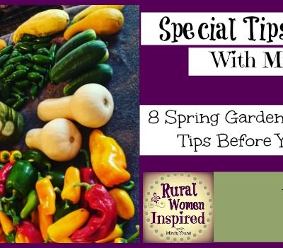 8 Spring Garden Preparation Tips with Mindy Young