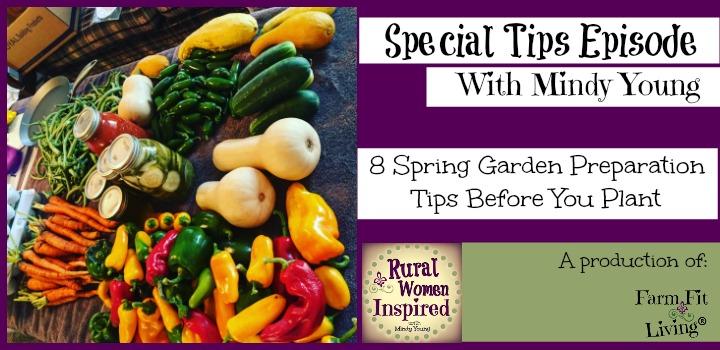 spring garden preparation