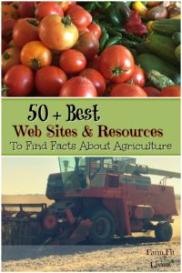 50 best facts about agriculture web sites and resources